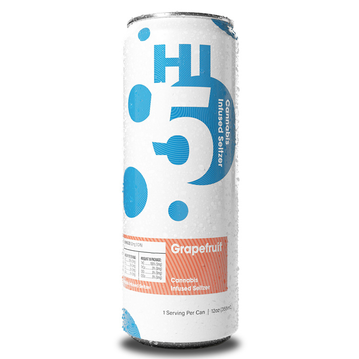 Hi5 Grapefruit flavor in a can